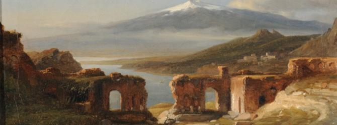 Sur la route d'Italie, peindre la nature d'Hubert Robert à Corot