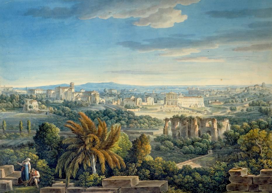 Voyages en Italie de Louis-François CASSAS (1756 – 1827)