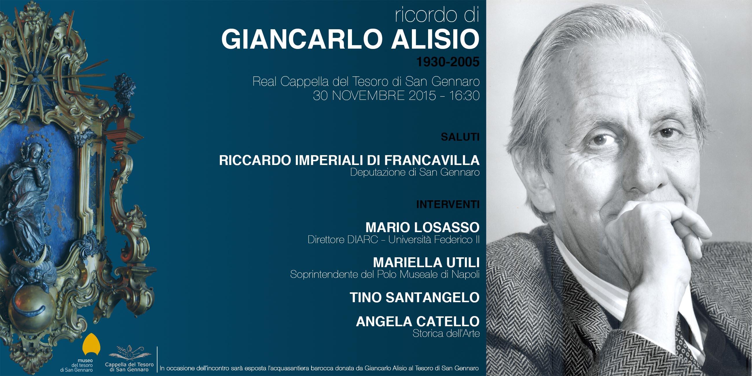 Ricordo di Giancarlo Alisio